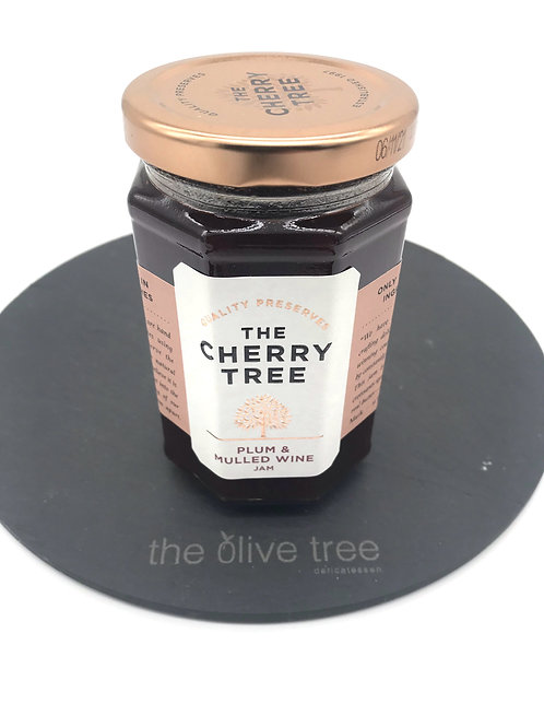Cherry Tree Plum & Mulled Wine preserve 340g