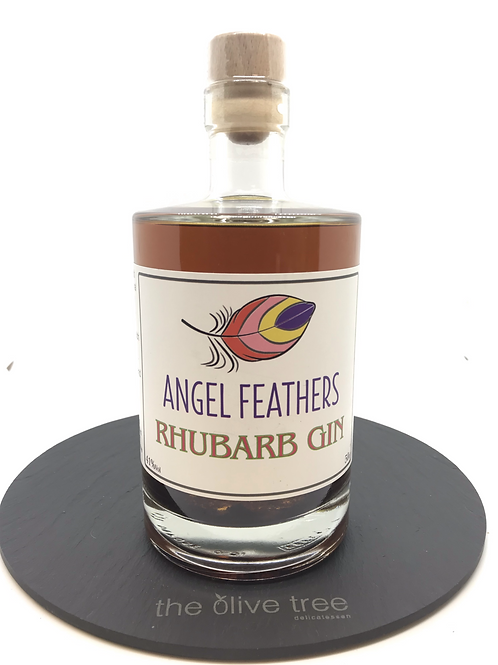 Angel Feathers Rhubarb Gin 70cl