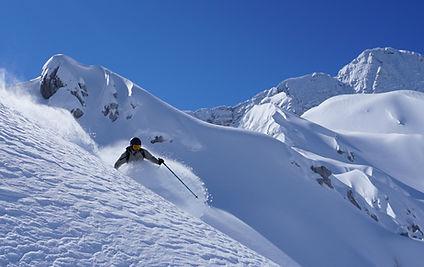 Fresh snow paradise under the kanin, della mea francesco freeride