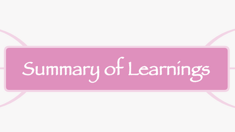Summary of Learnings