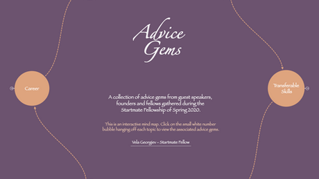 A collection of 'Advice Gems'