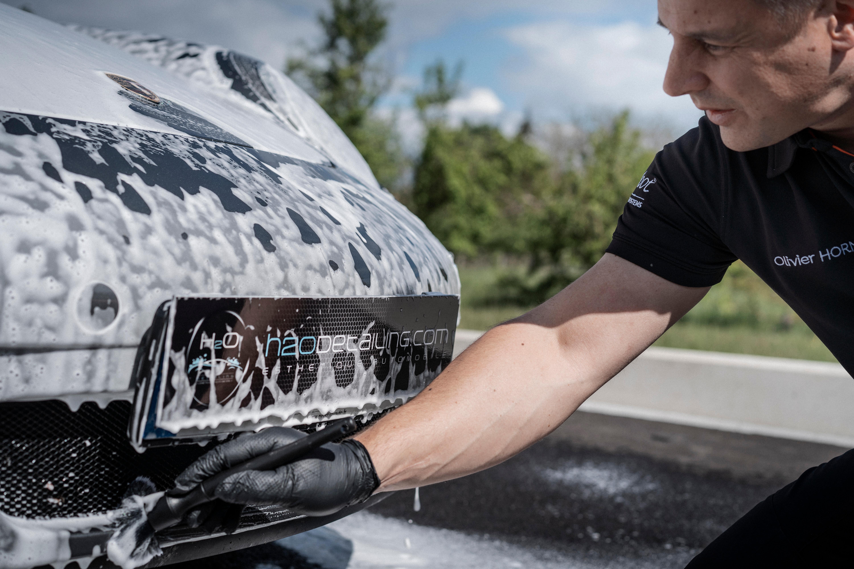 Lavage extérieur & séchage du véhicule