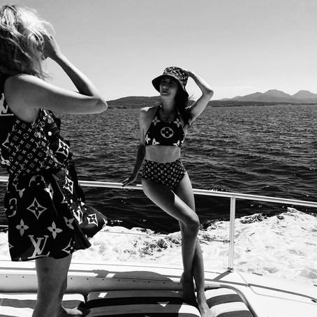 Valentina Siragusa x Louis Vuitton