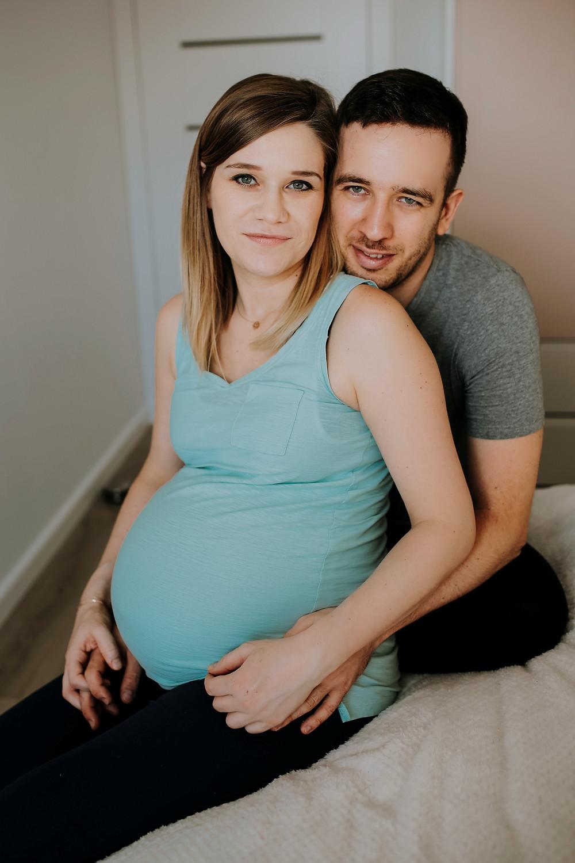 Sesja ciążowa w domu Gdańsk