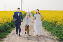 Sesja ślubna w rzepaku Trójmiasto