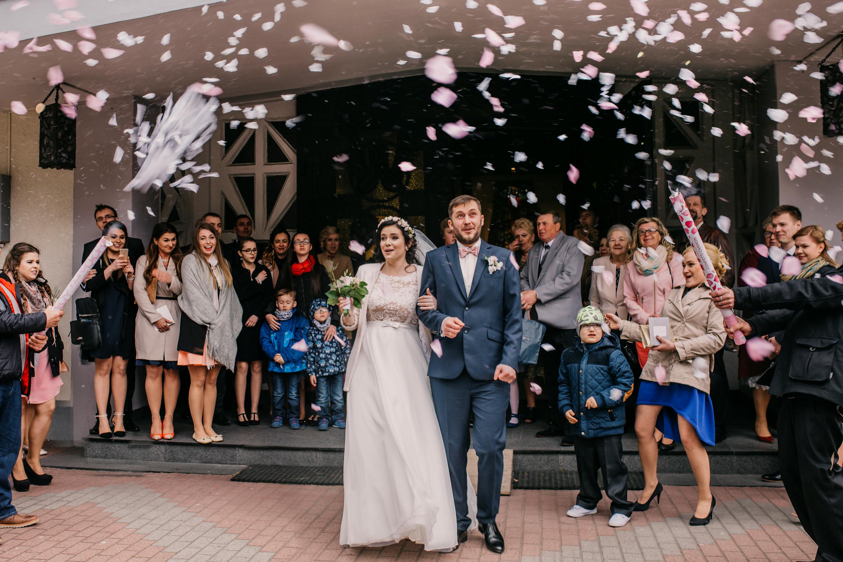 Ślub w kościele we Władysławowie Wniebowzięcia NMP Władysławowo kościół