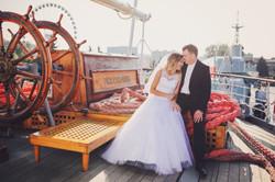 Sesja ślubna Dar Pomorza Gdynia