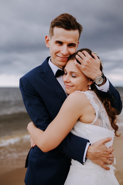 Sesja ślubna Plaża Jelitkowo