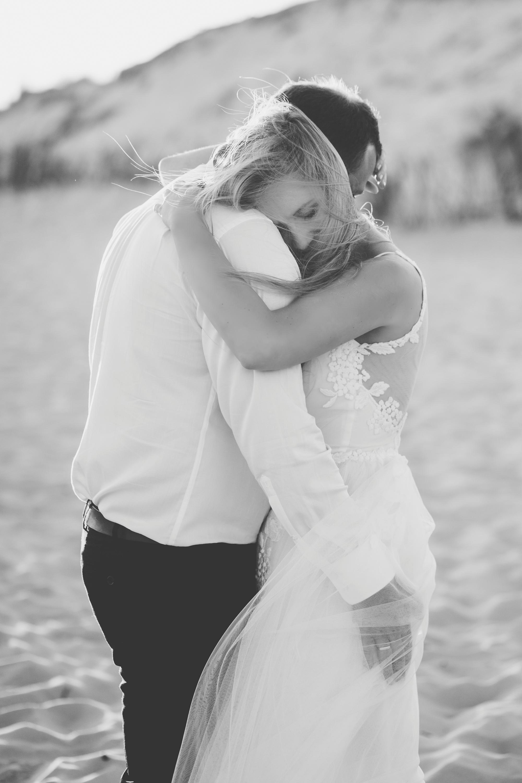 Sesja ślubna na plaży Hel