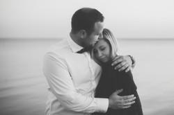 Sesja ślubna nad zatoką