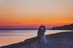 Sesja ślubna nad zatoką pucką