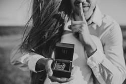Sesja zaręczynowa niespodzianka