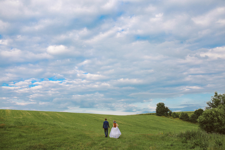 Sesja ślubna na polanie Trójmiasto