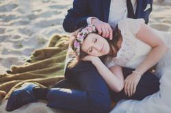 Sesja ślubna plaża Górki Zachodnie