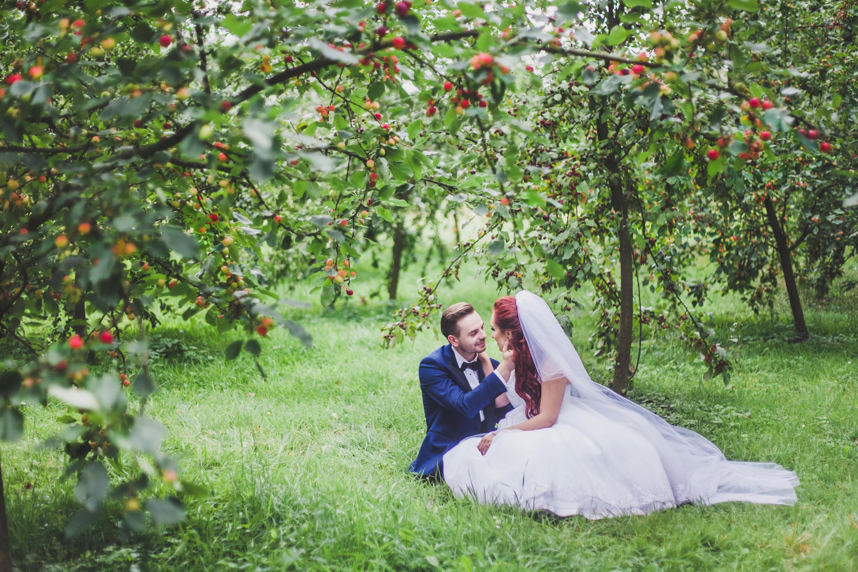 Sesja ślubna Park Arkadia