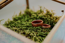 Drewniane obrączki na ślub