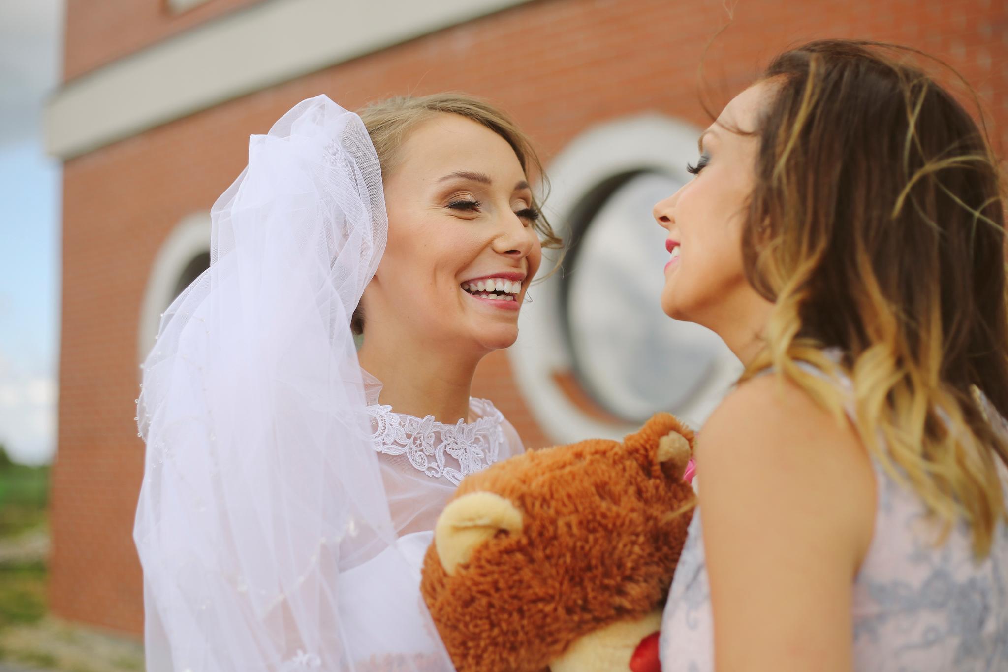 Ślub w kościele św. Faustyny Kowalskiej w Pucku kościół Puck