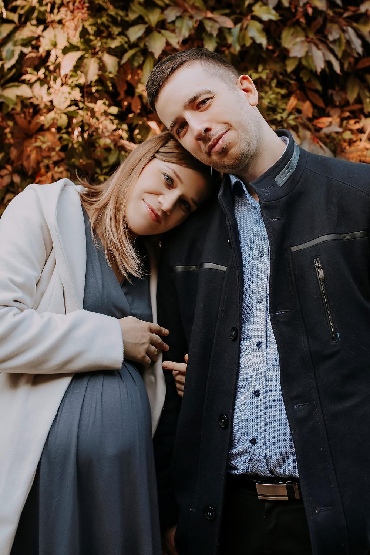 Sesja ciążowa w Parku Oliwskim Gdańsk