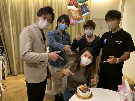 泉佐野美容室A:ria.es.uno【アーリアエスウーノ】スタッフの誕生日✨