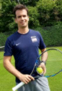 Tennis lessons at Battersea Park