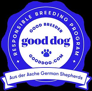 Aus der Asche Good Dog Good Breeder, Responsibe Breeder
