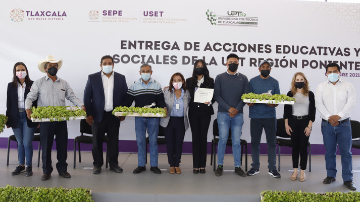 LORENA CUÉLLAR ENTREGÓ ACCIONES EDUCATIVAS Y SOCIALES EN LA UNIVERSIDAD POLITECNICA REGIÓN PONIENTE