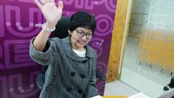 Lilia Cedillo finaliza campaña como candidata a rectora