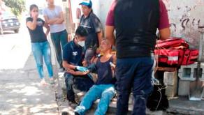 Cable suelto electrocuta a El Jarocho en calles de Atlixco