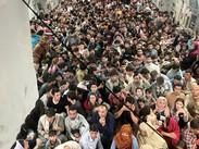 Avión Militar de EE.UU. que salió de Kabul con 640 pasajeros al momento lo que se sabe...