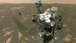 El rover Perseverance por fin logró extraer muestras de una roca en Marte