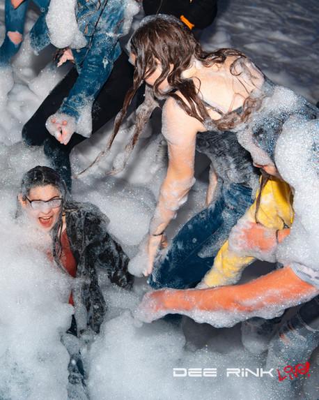 Foam Party on Ice