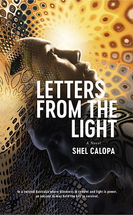 Shel Calopa - Letters from the light cov