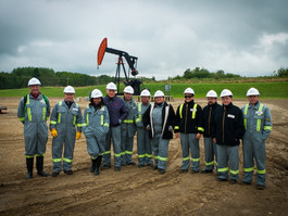 Study tour to Alberta with Mexico's CNH, SENER and PEMEX