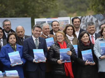 Launch of Chile's National Climate Change Action Plan by President Bachelet