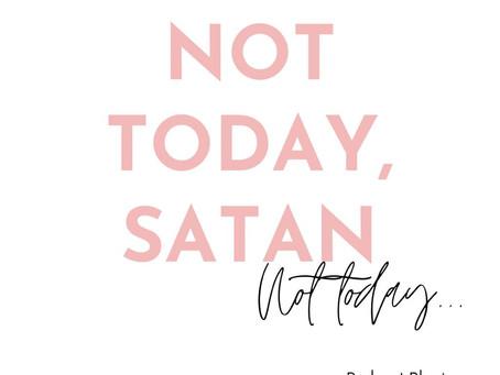 Satan klopte op mijn deur....