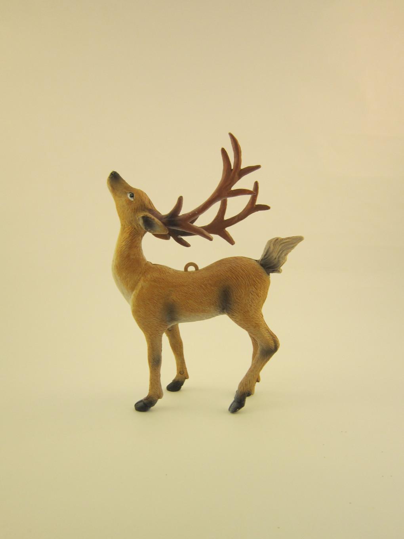 Glittered Reindeer DIY