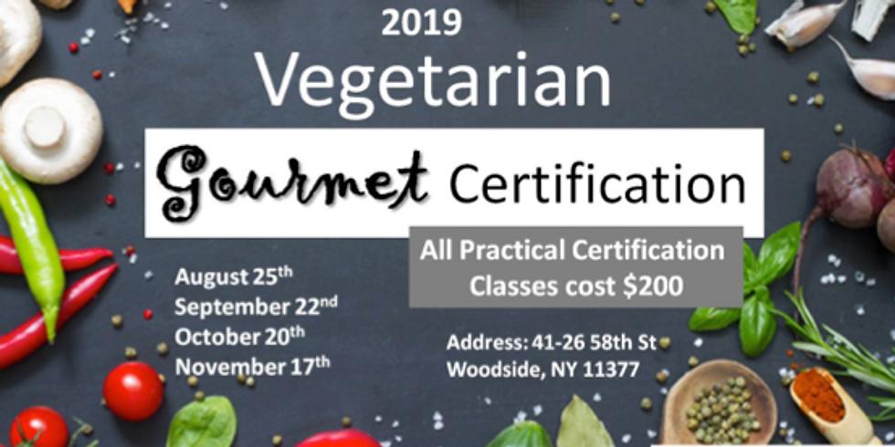 Vegetarian Gourmet Certification