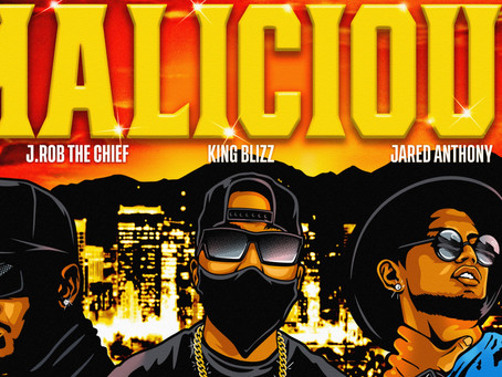 """King Blizz - """"Malicious"""" ft. J.Rob The Chief & Jared Anthony"""