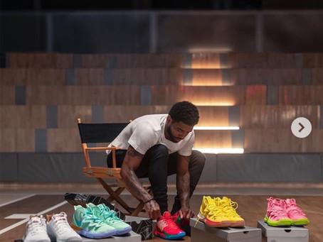 Kyrie & Nike Team With SpongeBob