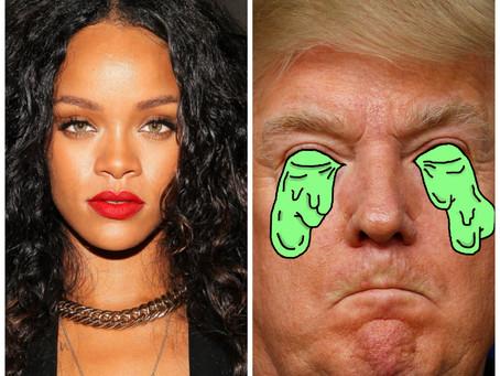 Rihanna Calls Out Donald Trump After Dayton & El Paso Shootings