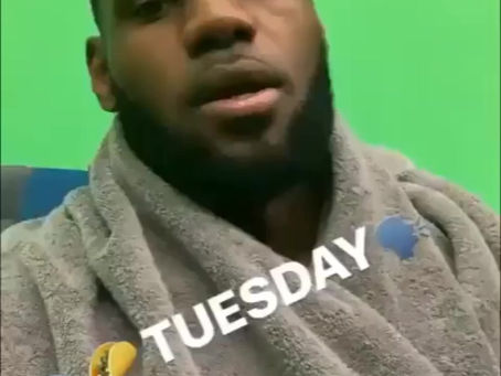 """Lebron Previews """"Space Jam 2"""" Jersey on Taco Tuesday"""