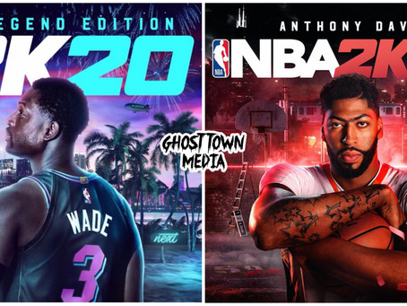 NBA 2K20 Reveals Cover Athletes