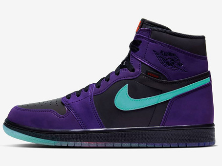 """FIRST LOOK AT THE Air Jordan 1 High Zoom """"Court Purple"""" DESIGN"""