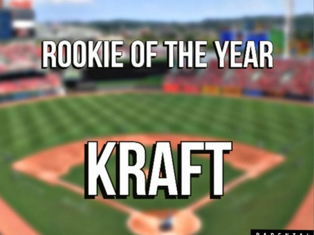 """""""ROOKIE OF THE YEAR"""""""