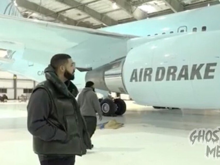 Drake Just Got An Airplane and Named It After Himself