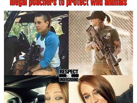 Kinessa Johson shoots people for a living