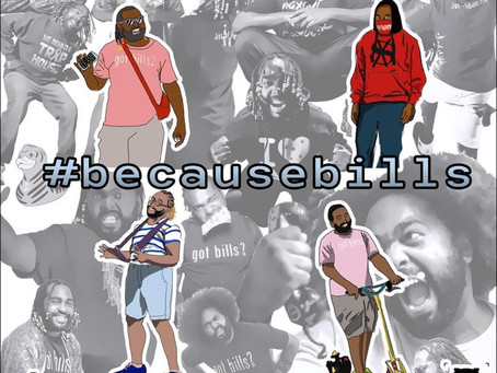 JOSEPH BILLS SHOWS OUT ON HIS #becausebills ep
