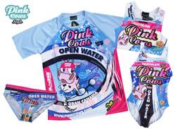 Camiseta, top y bañadores