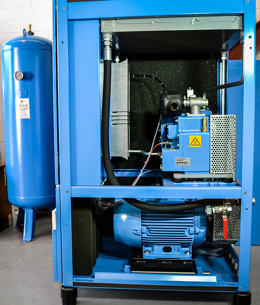 Inside Rotary Screw Compressor (1)