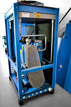 Inside Rotary Screw Compressor (2)